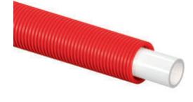 Трубы в красном кожухе